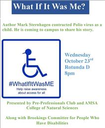 What if it was me event flyer