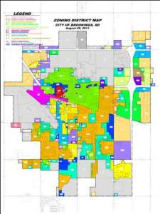 Zoning Map updated August 2011